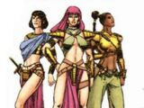 Amazons of Bana-Mighdall