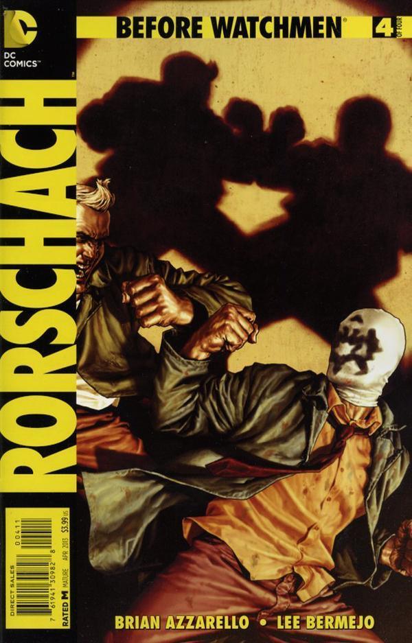 Before Watchmen: Rorschach Vol 1 4