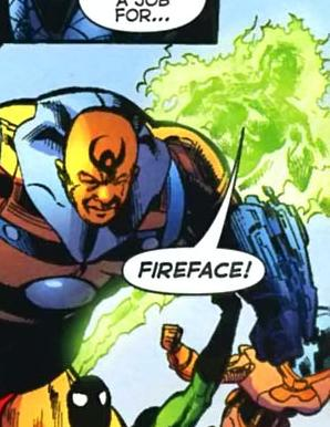 Fireface (New Earth)