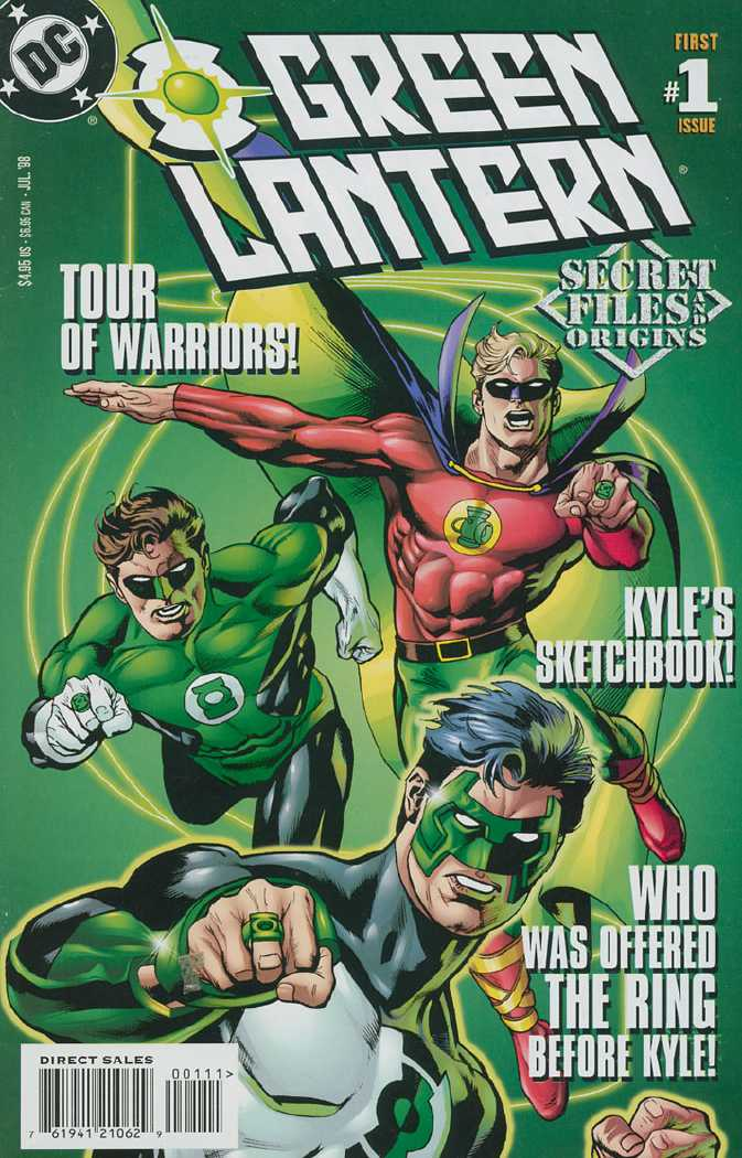 Green Lantern Secret Files and Origins Vol 1 1