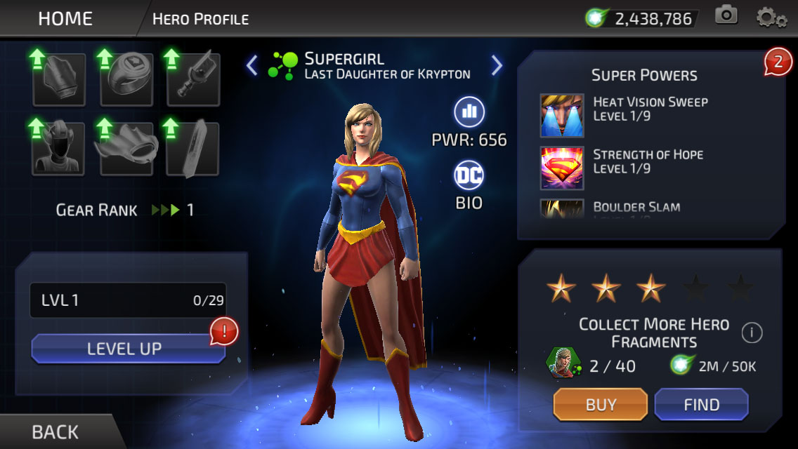 Kara Zor-El (DC Legends)