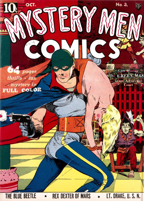 Mystery Men Comics Vol 1 3