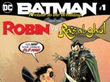 Batman: Prelude to the Wedding: Robin vs. Ra's al Ghul Vol 1 1