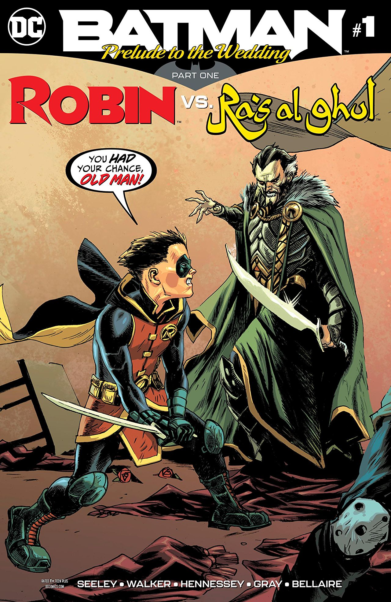 Batman: Prelude to the Wedding: Robin vs. Ra's al Ghul Vol 1 1