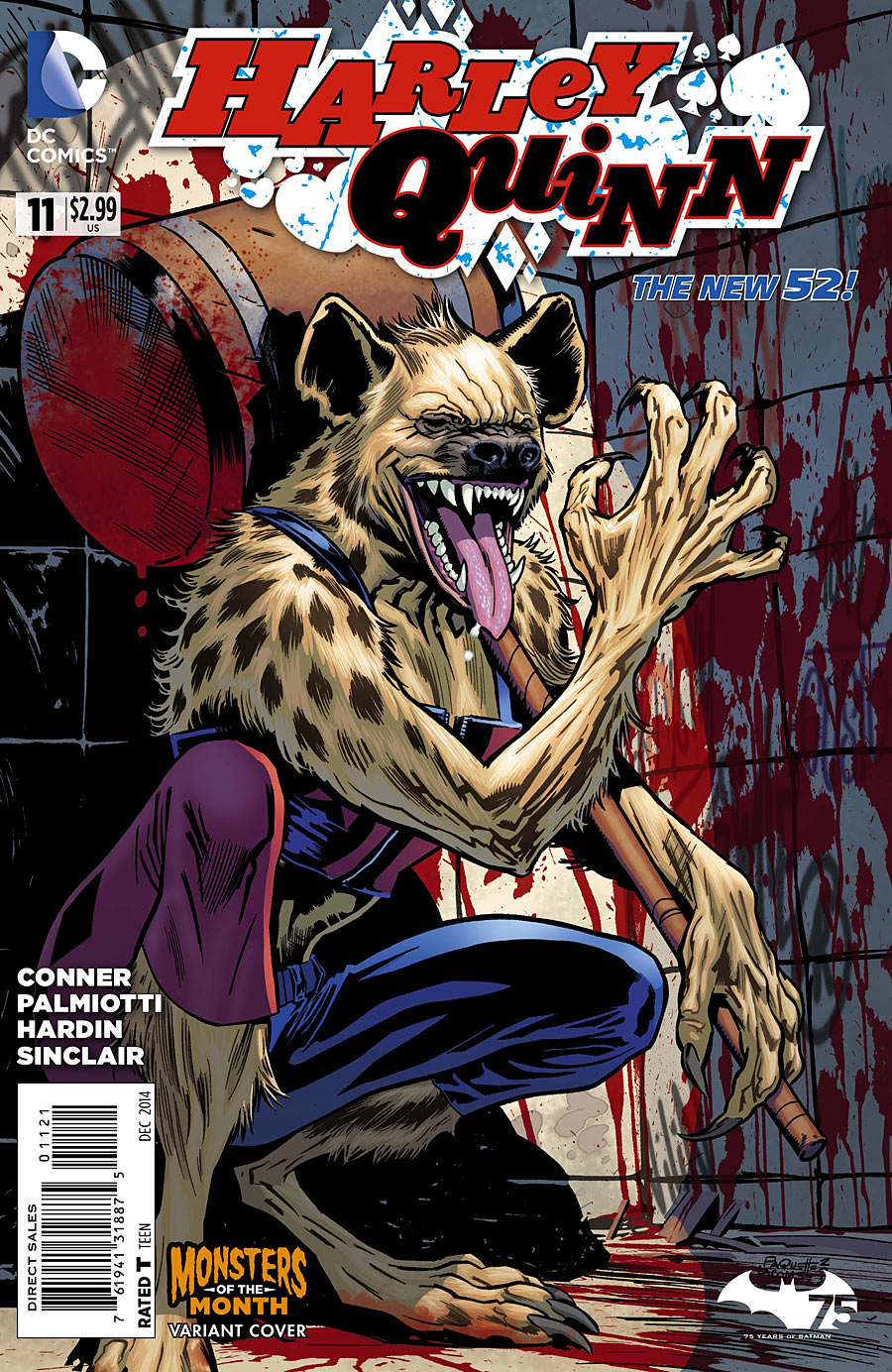 Harley Quinn Vol 2 11 Monsters of the Month Variant.jpg