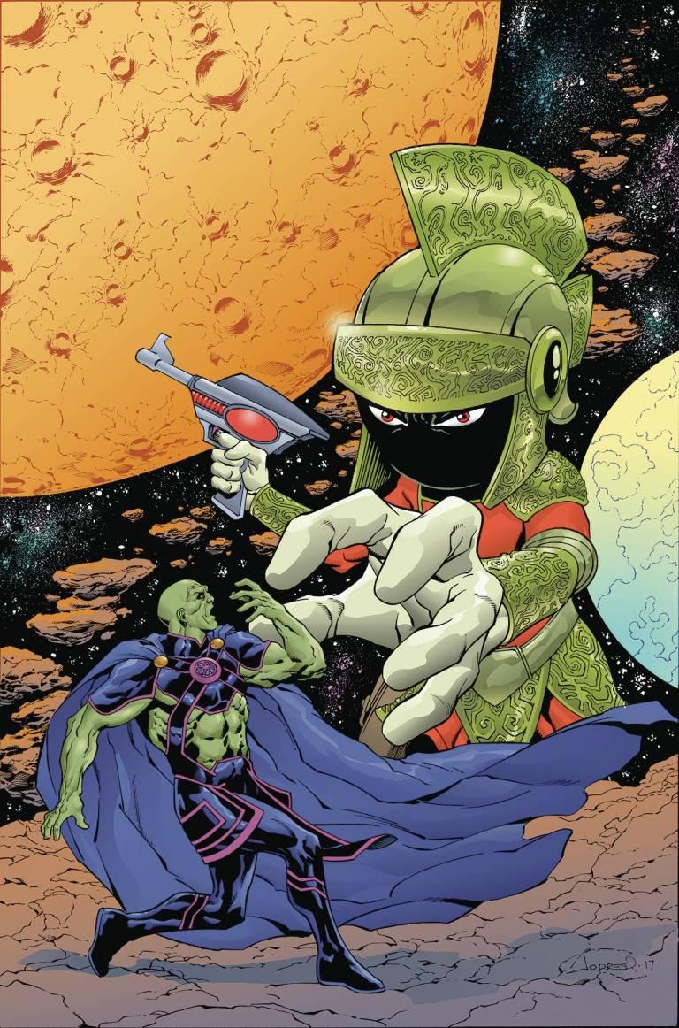 Martian Manhunter Marvin the Martian Special Vol 1 1 Textless.jpg