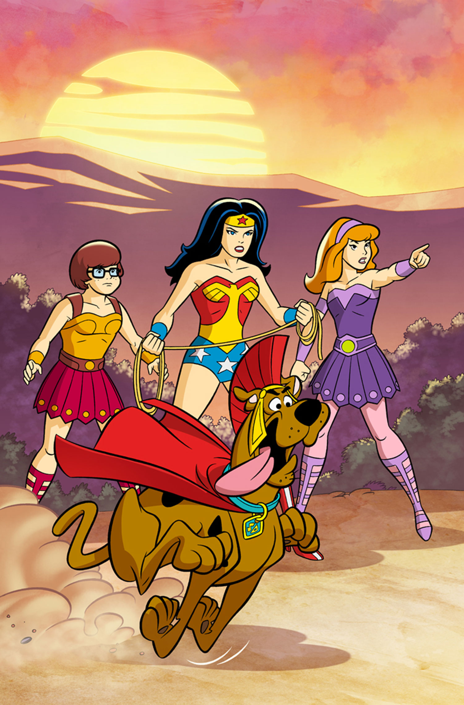 Diana of Themyscira (Scooby-Doo Team-Up)