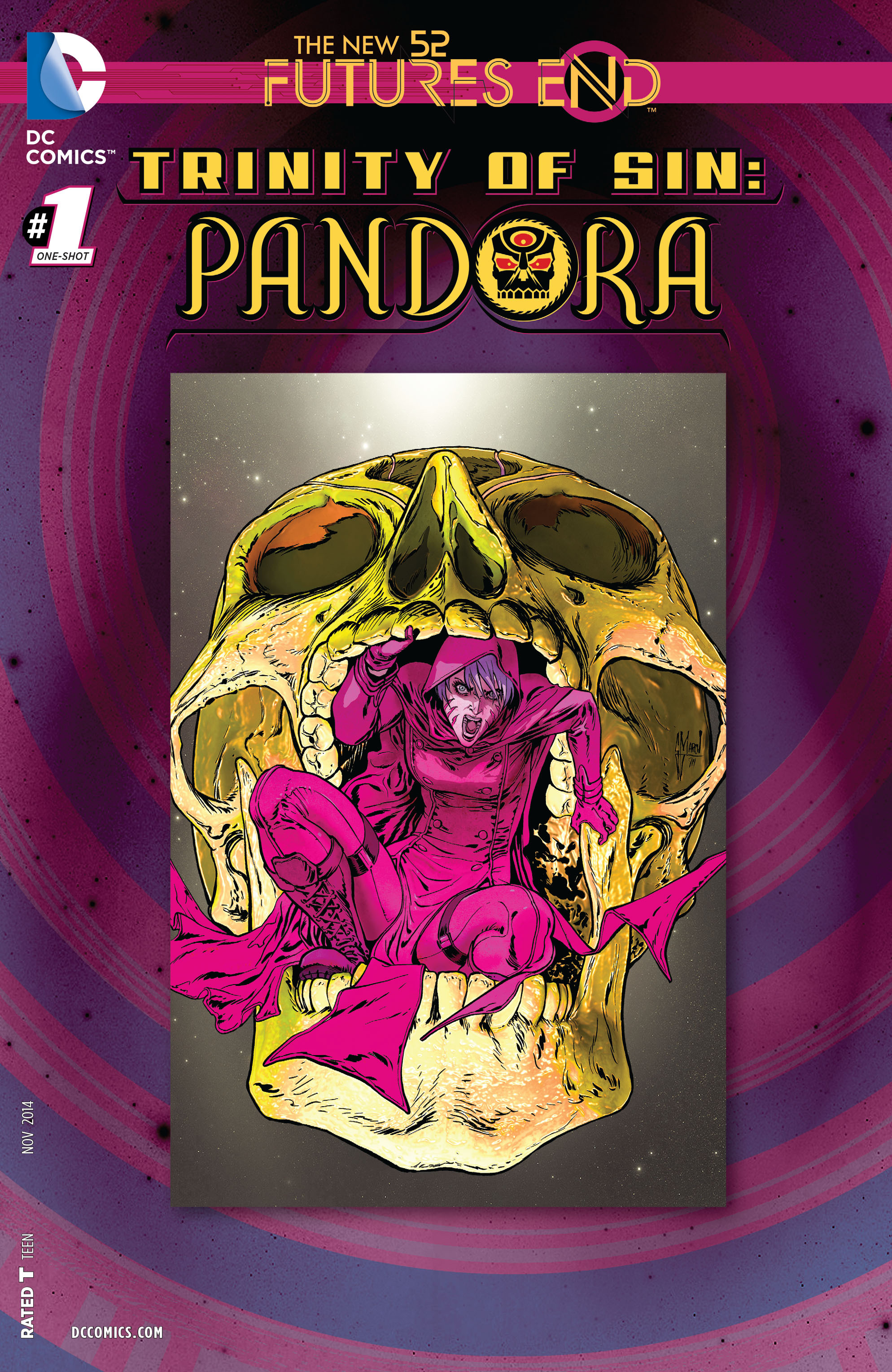 Trinity of Sin: Pandora: Futures End Vol 1 1