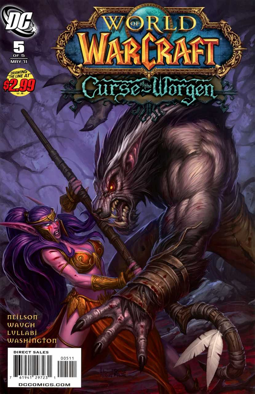 World of Warcraft: Curse of the Worgen Vol 1 5