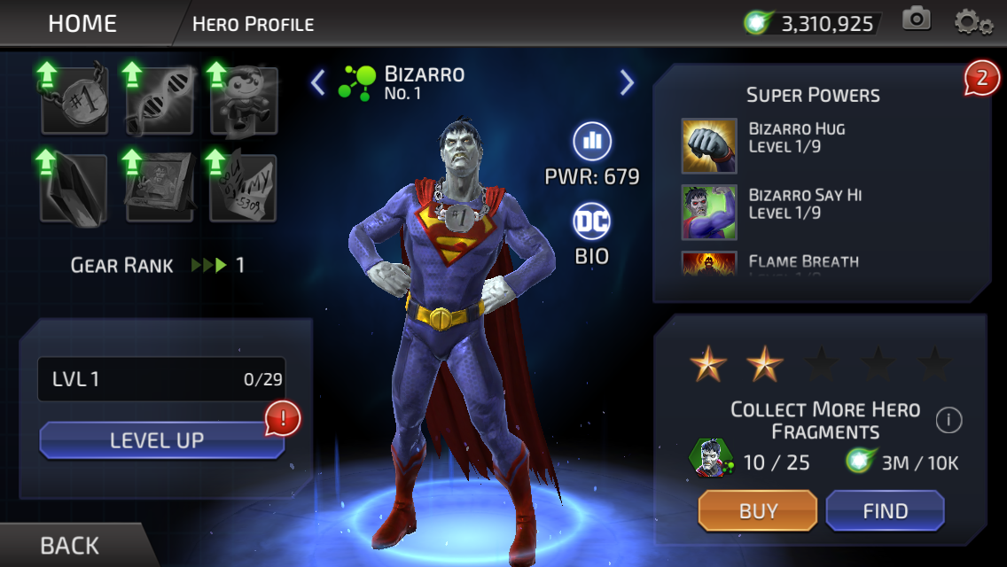 Bizarro (DC Legends)