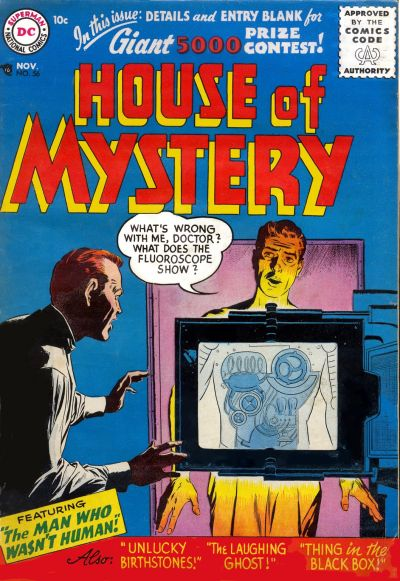 House of Mystery Vol 1 56