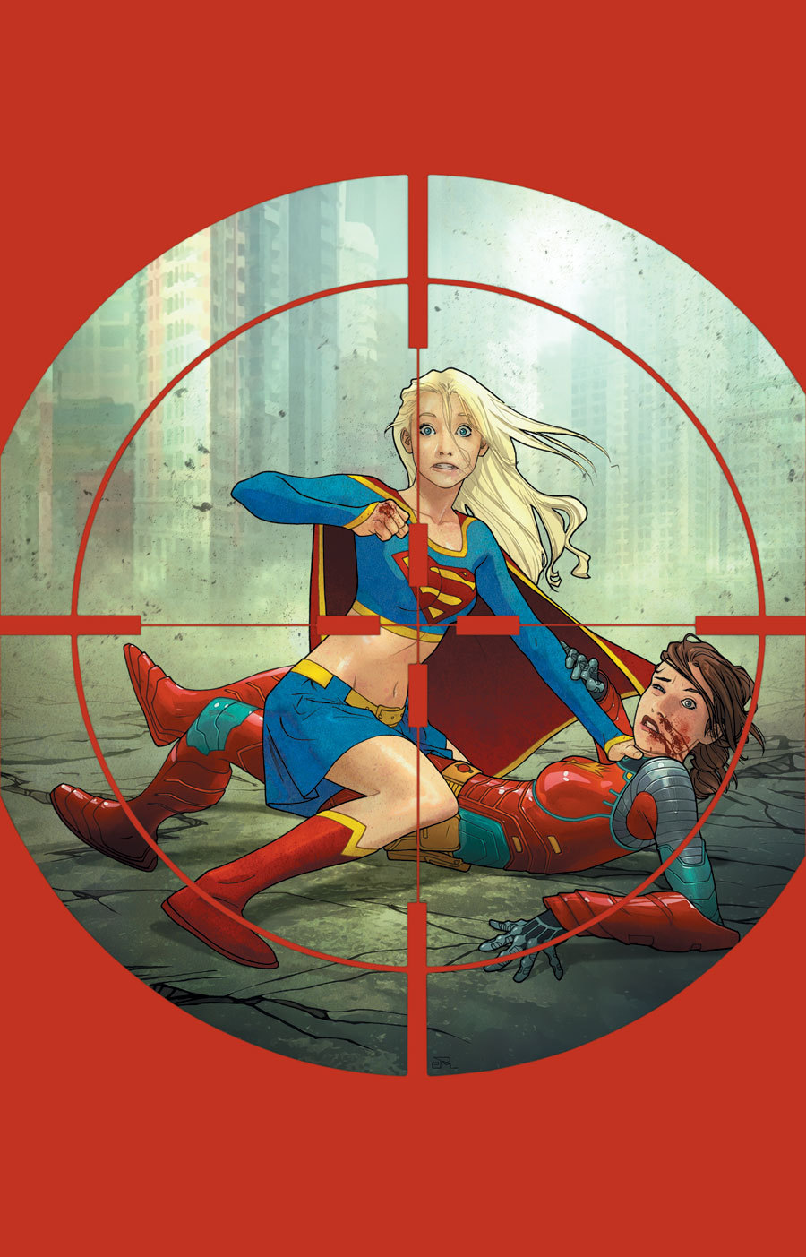 Supergirl Friends and Fugitives Collected Textless.jpg
