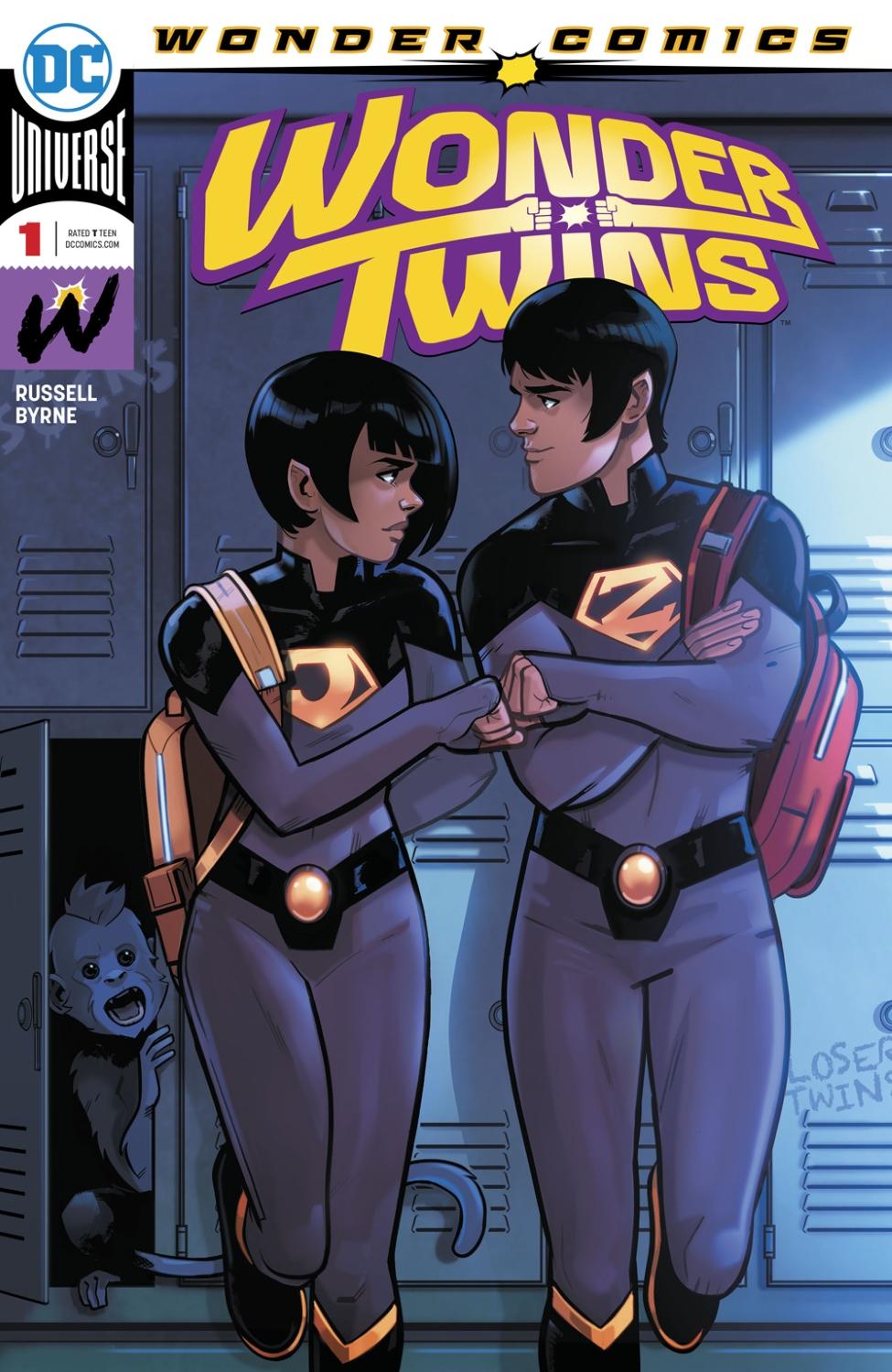 Wonder Twins Vol 1 1