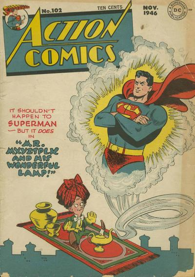 Action Comics Vol 1 102