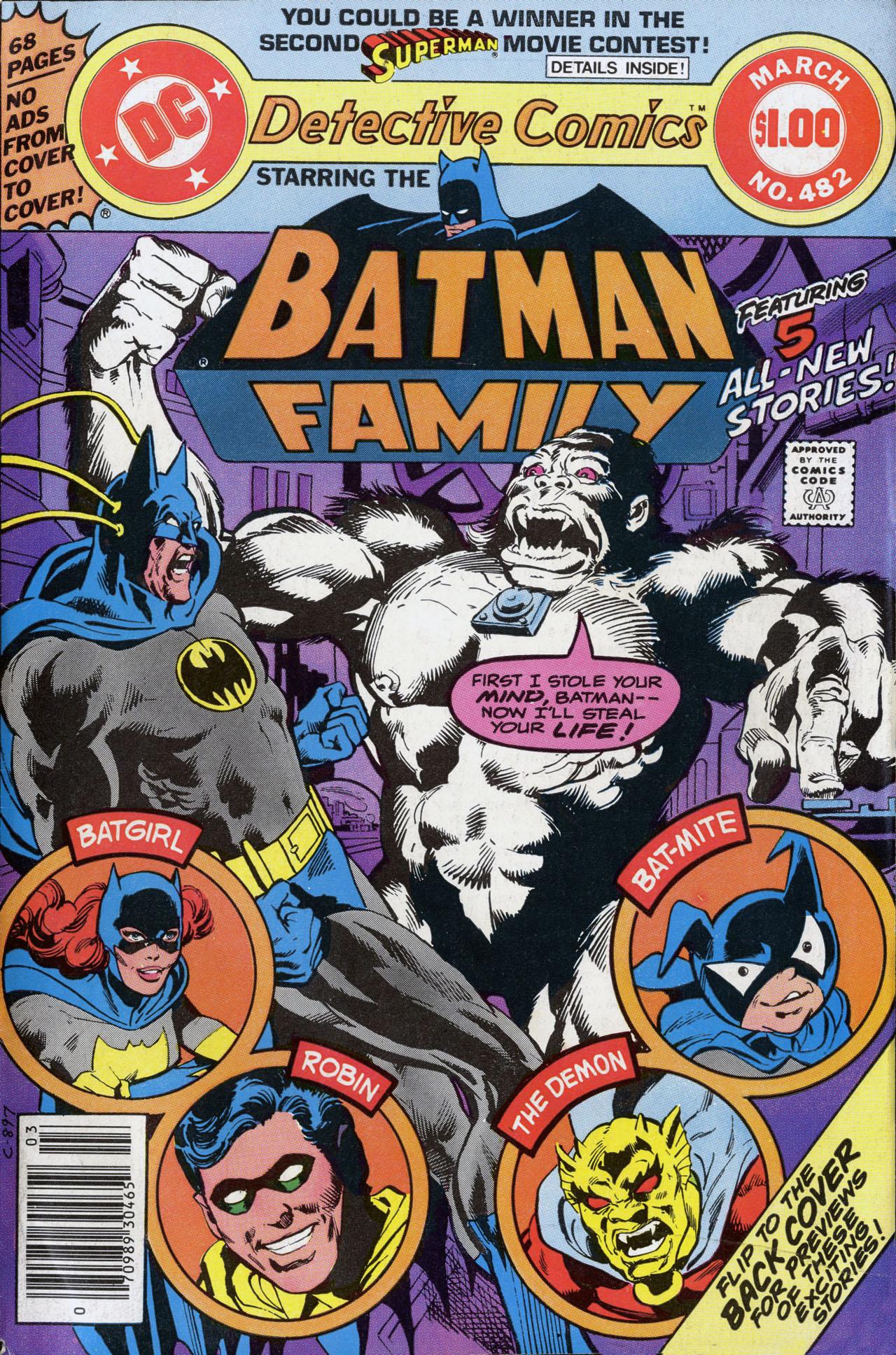 Detective Comics Vol 1 482