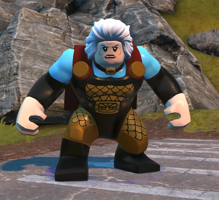 Granny Goodness (Lego Batman)