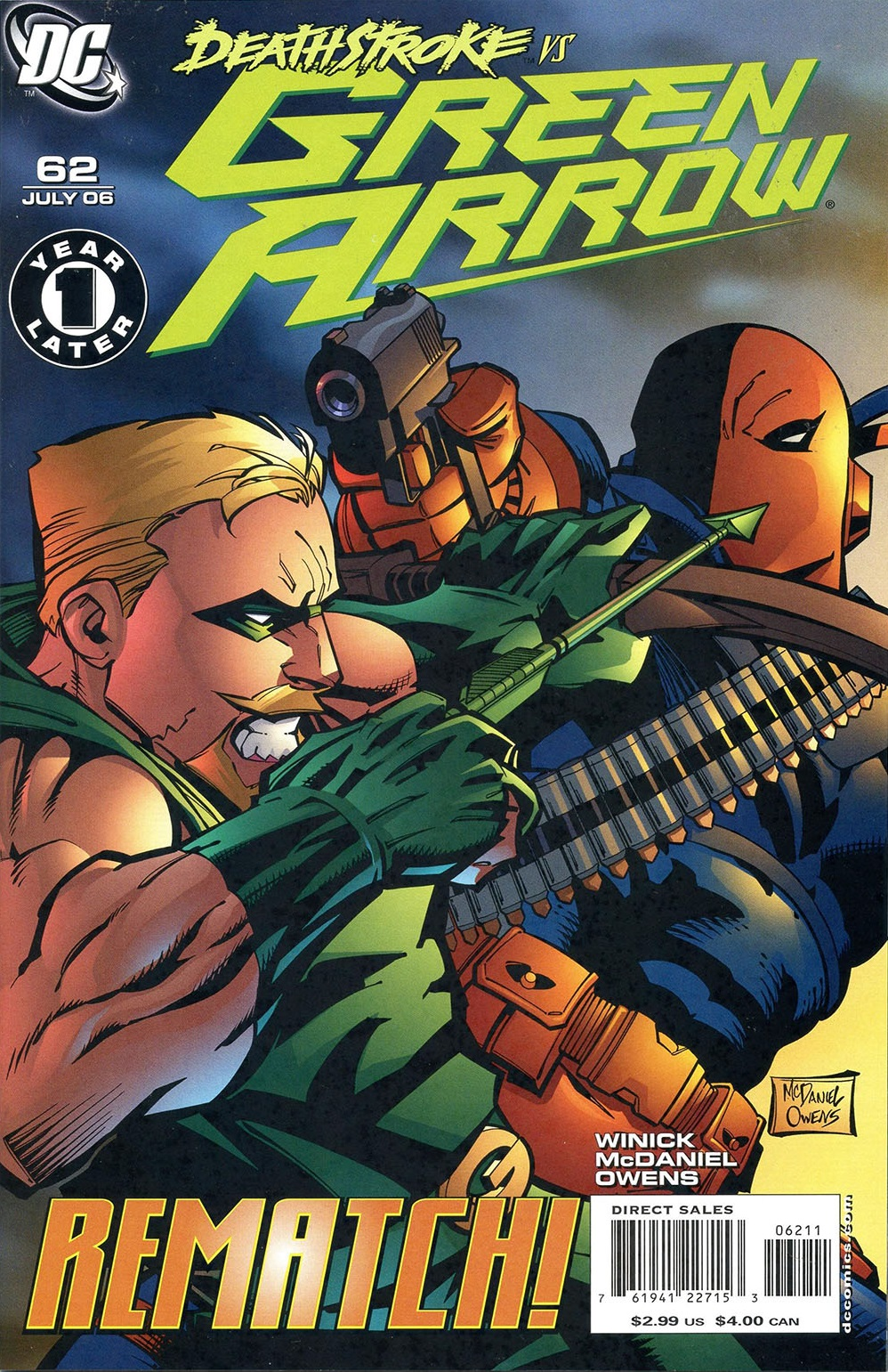Green Arrow Vol 3 62