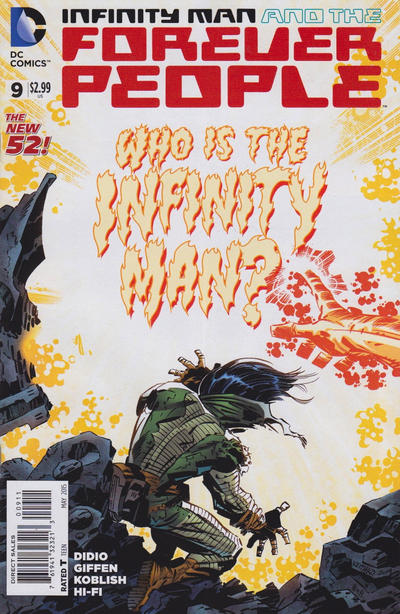 Infinity Man and the Forever People Vol 1 9