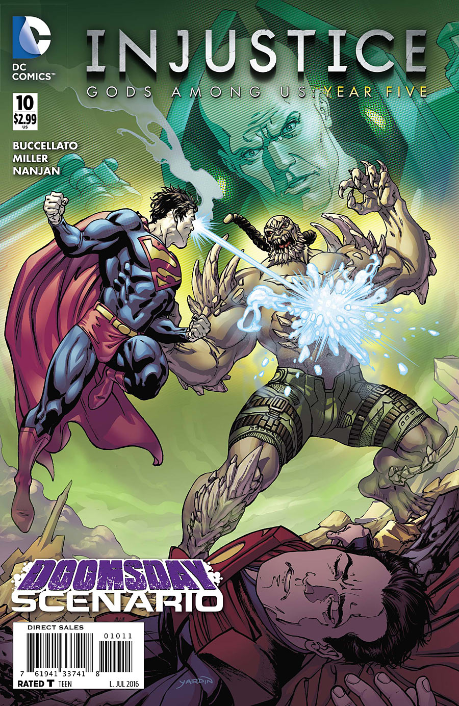 Injustice: Gods Among Us: Year Five Vol 1 10