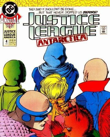 Justice League Antarctica Comic Book Annual #4 DC 1989 VFN//NEAR MINT UNREAD