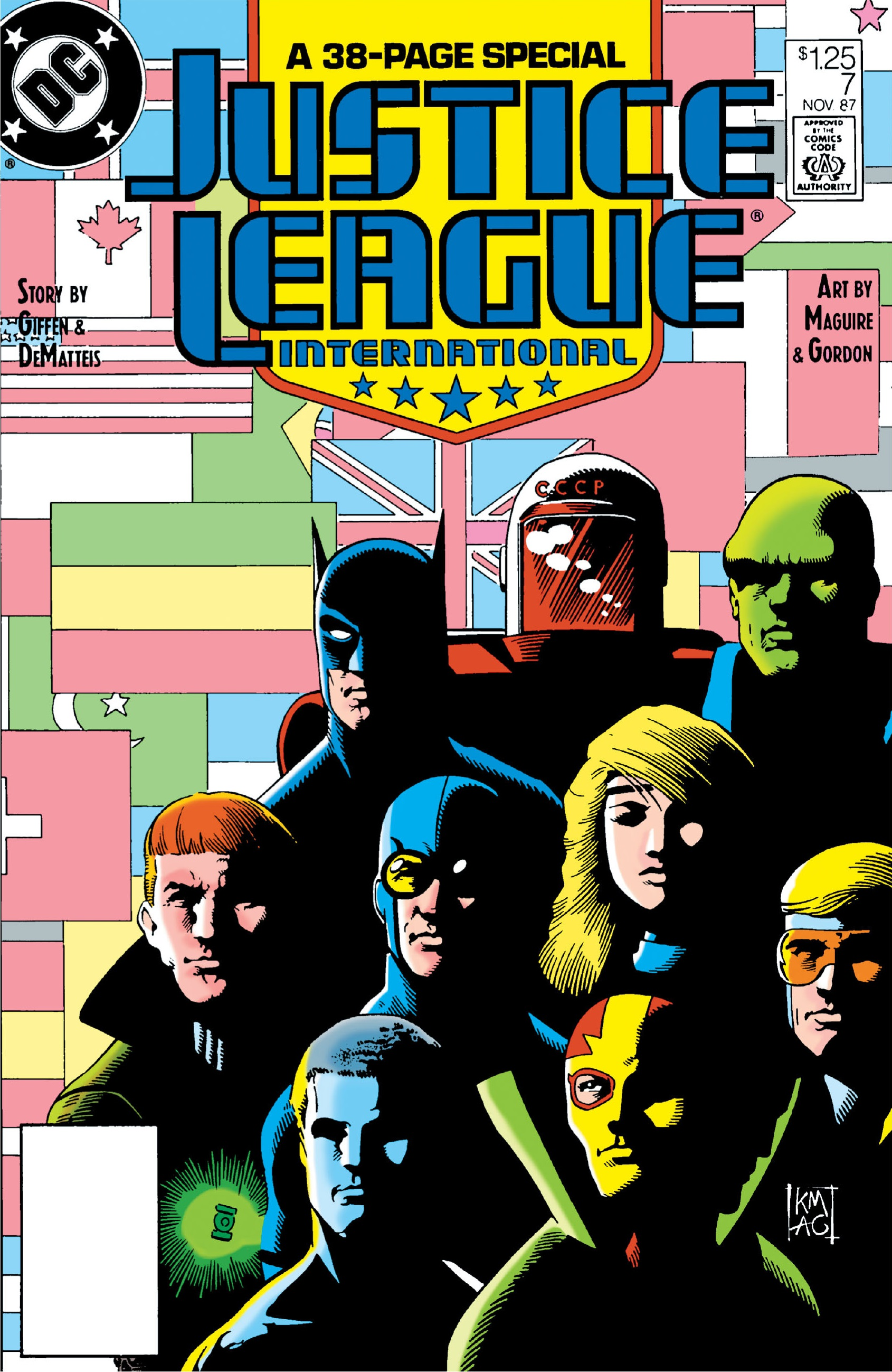 Justice League International Vol 1