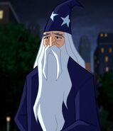 Merlin Justice League Action 0001