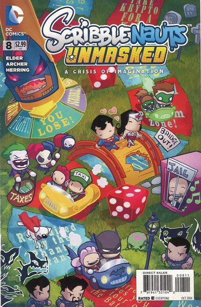 Scribblenauts Unmasked: A Crisis of Imagination Vol 1 8
