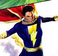 Captain Marvel Junior Justice 001