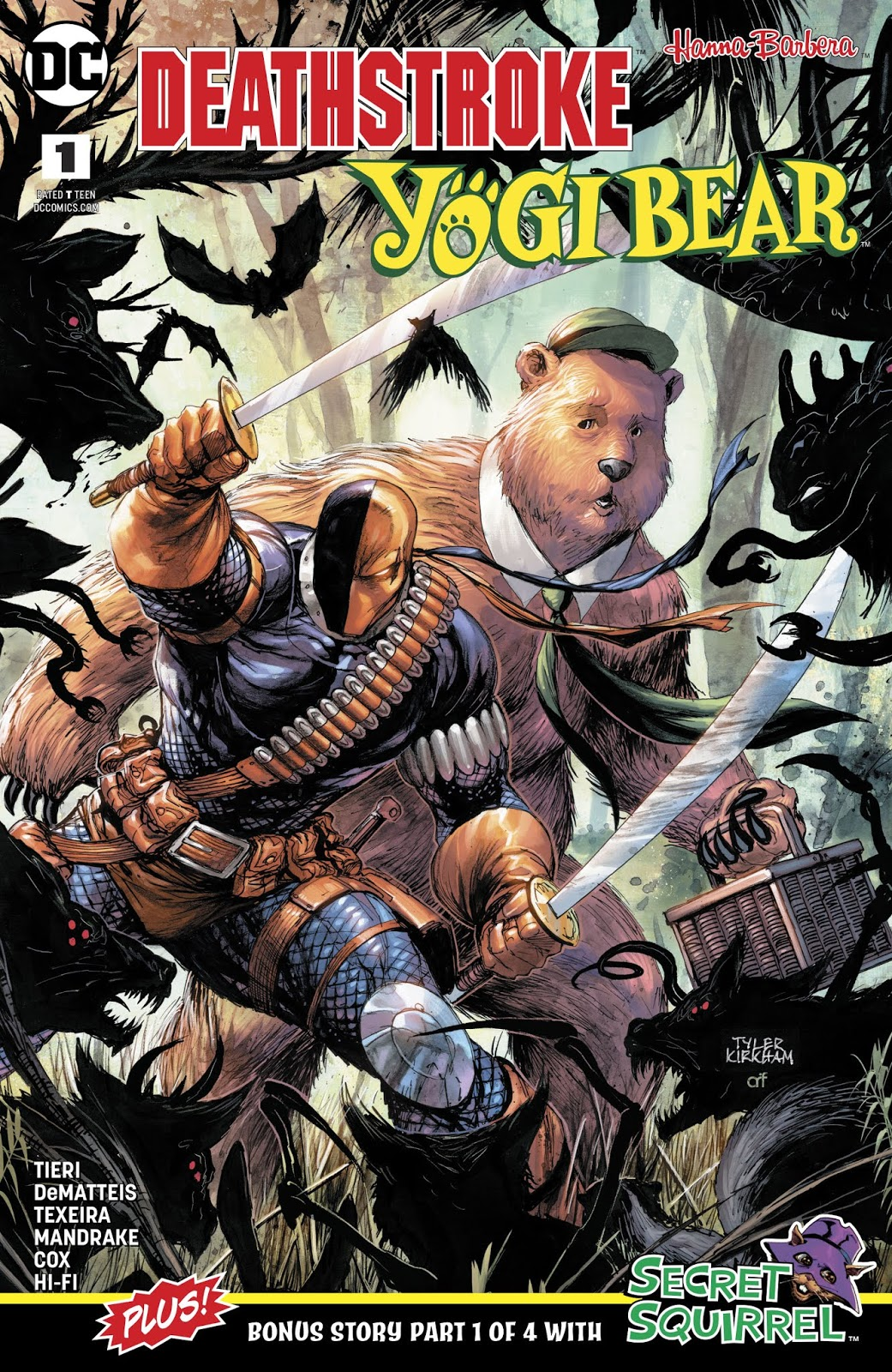 Deathstroke/Yogi Bear Special Vol 1 1