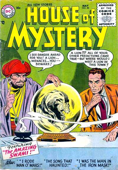 House of Mystery Vol 1 50