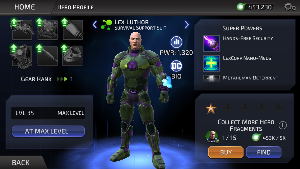 Lex Luthor (DC Legends)