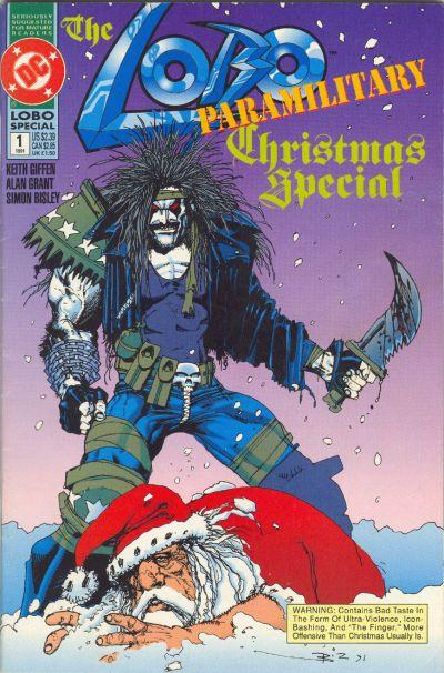 Lobo Paramilitary Christmas Special Vol 1 1