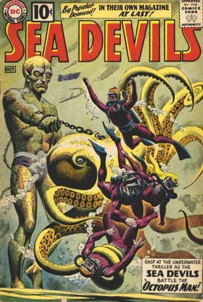 Sea Devils Vol 1 1