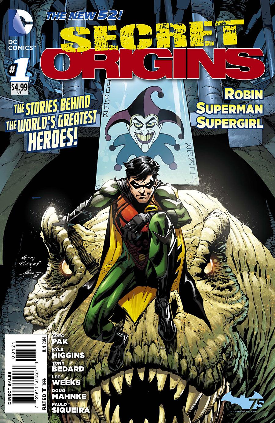 Secret Origins #35 Vol 3