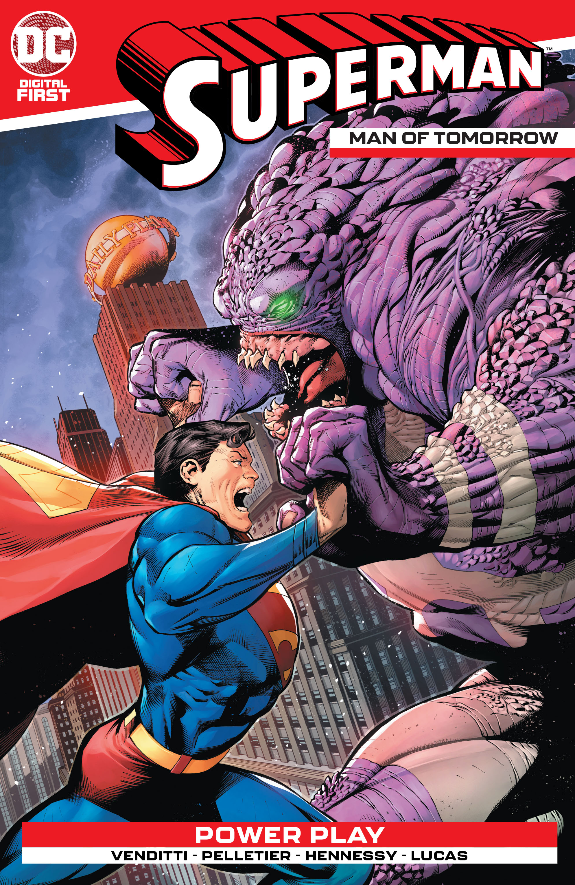 Superman: Man of Tomorrow Vol 1 1 (Digital)