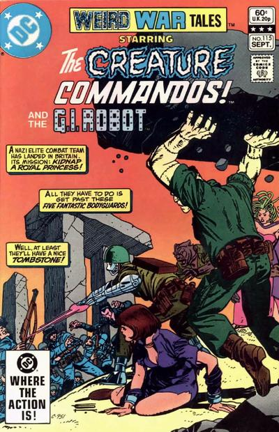 Weird War Tales Vol 1 115