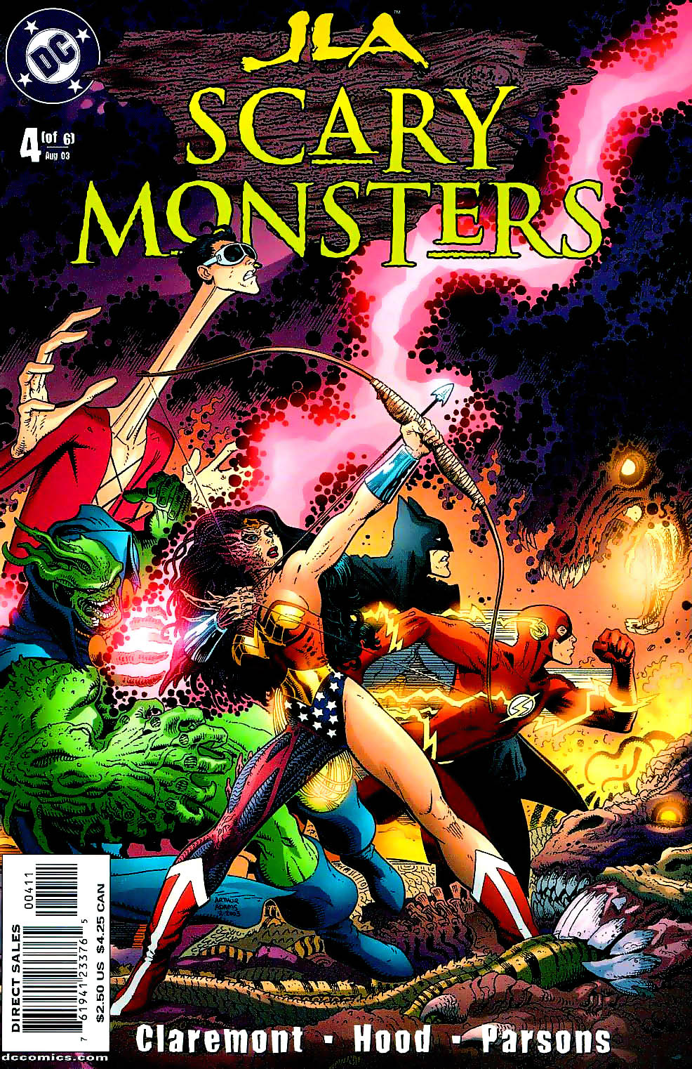 JLA: Scary Monsters Vol 1 4