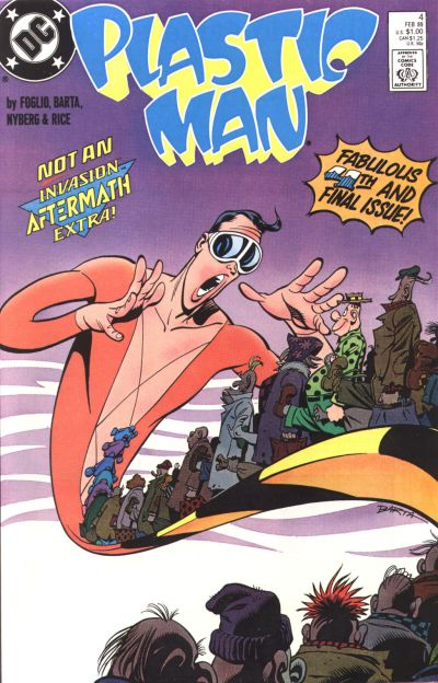 Plastic Man Vol 3 4