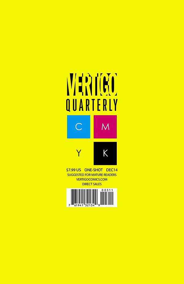 Vertigo Quarterly: Yellow Vol 1 1