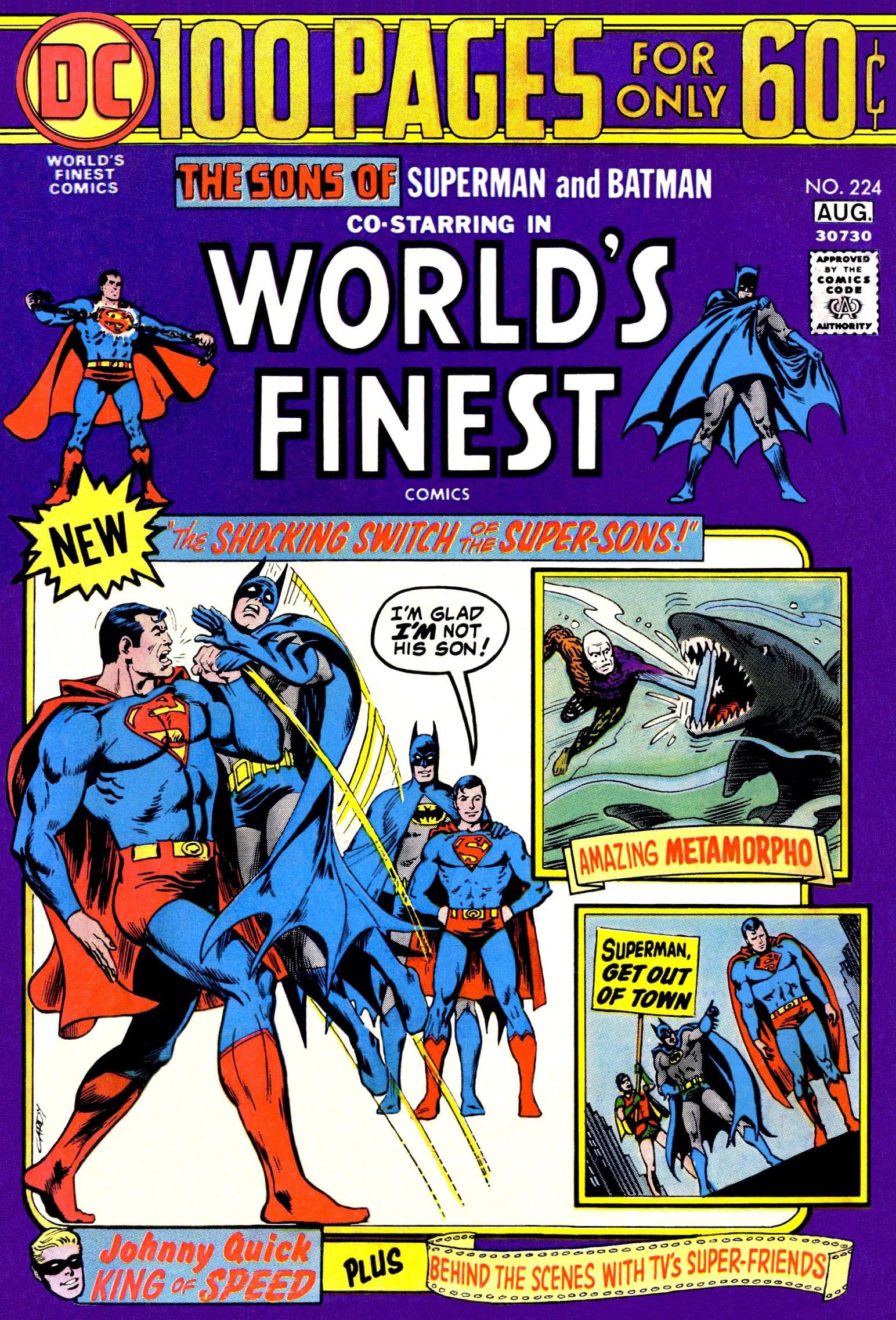 World's Finest Vol 1 224
