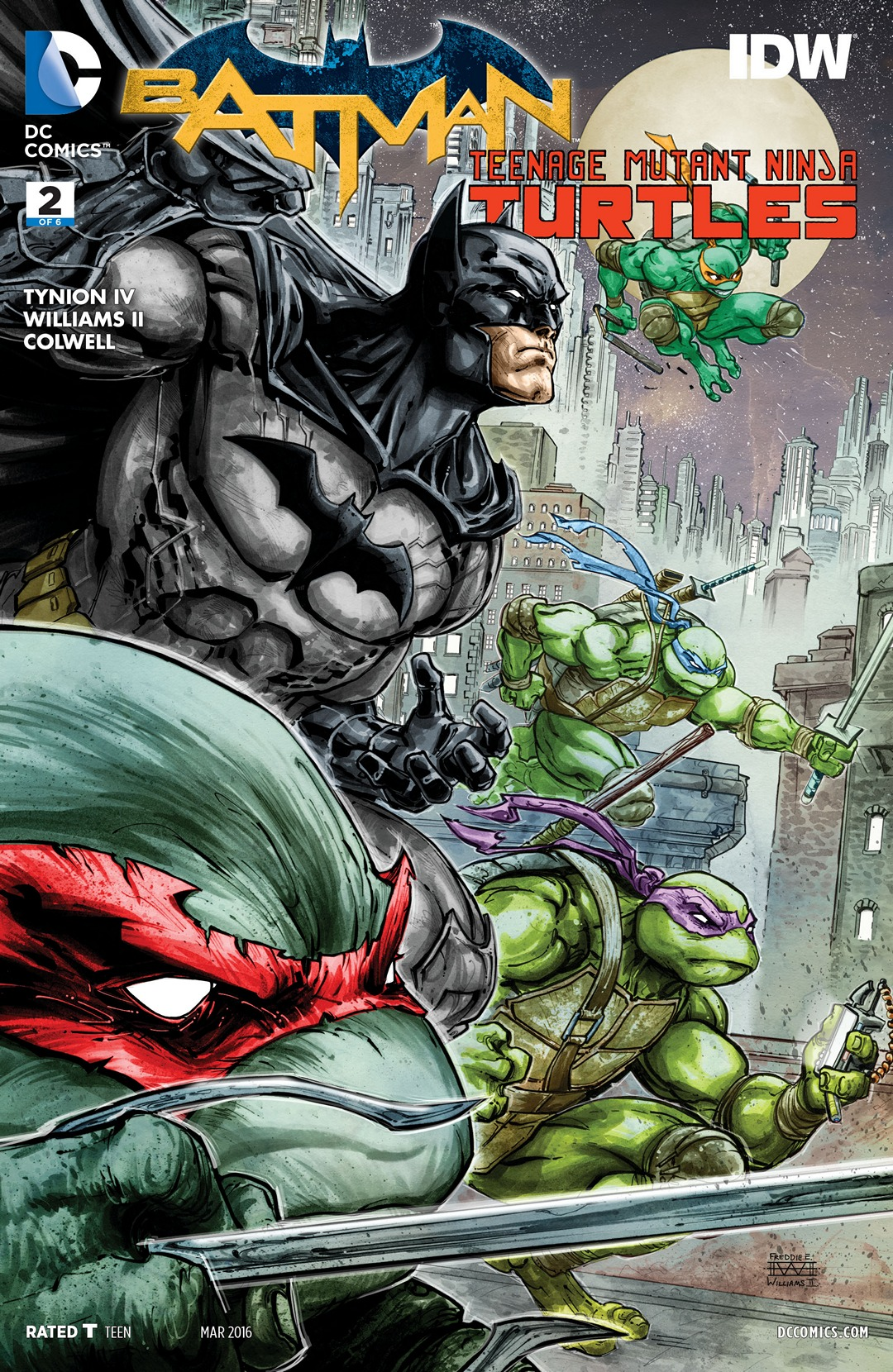 Batman/Teenage Mutant Ninja Turtles Vol 1 2