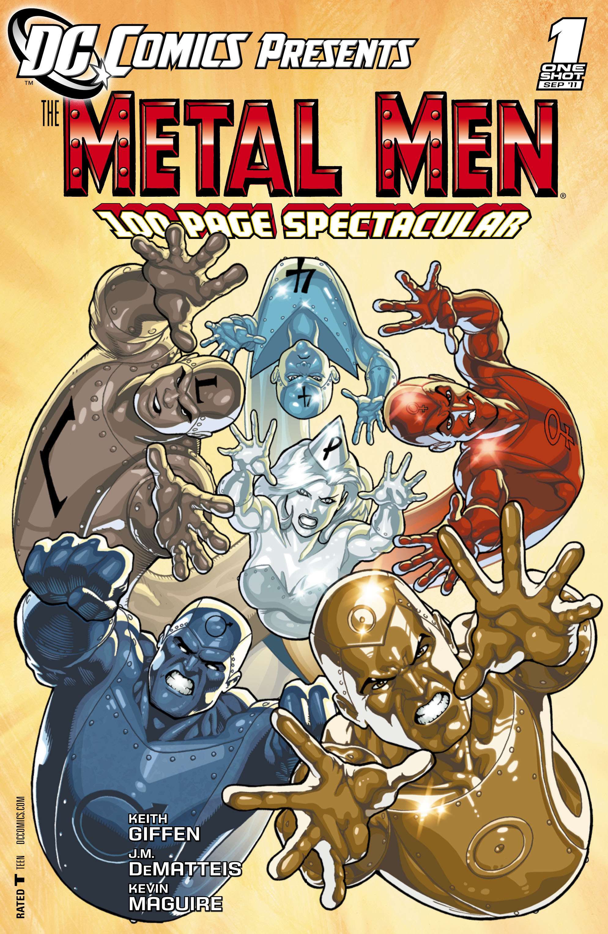 DC Comics Presents: Metal Men Vol 1 1