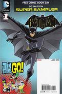 DC Nation FCBD Super Sampler Beware the Batman Teen Titans Go! Vol 1 1