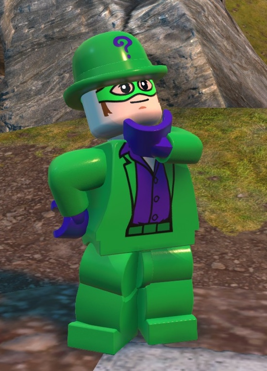 Edward Nygma (Lego Batman)