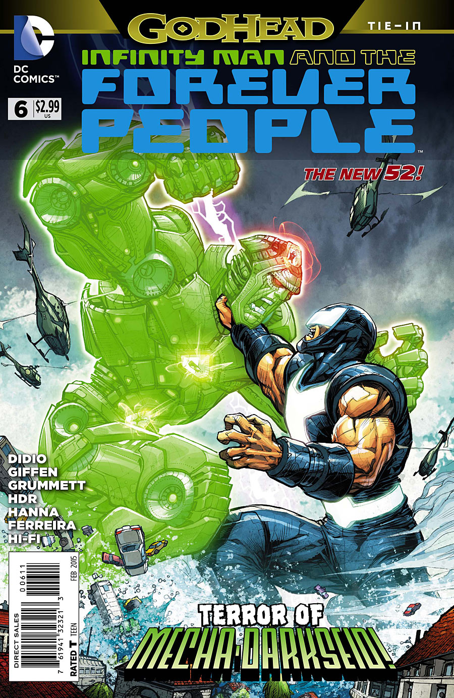 Infinity Man and the Forever People Vol 1 6