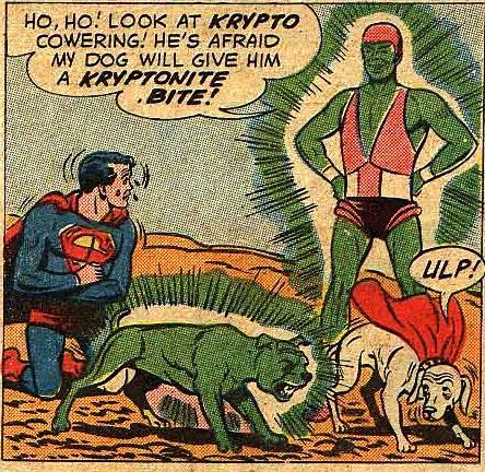 Kryptonite Dog (Earth-One)