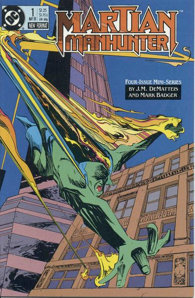 Martian Manhunter Vol 1 1