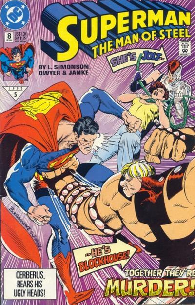 Superman: The Man of Steel Vol 1 8