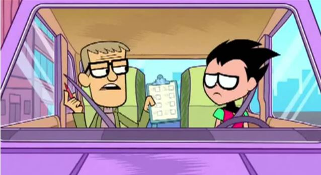 Teen Titans Go! (TV Series) Episode: Driver's Ed