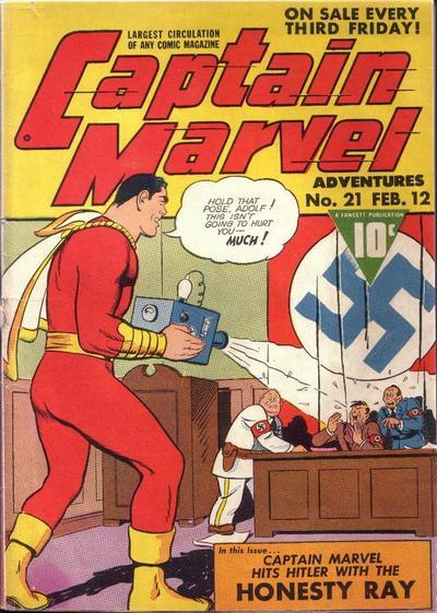 Captain Marvel Adventures Vol 1 21